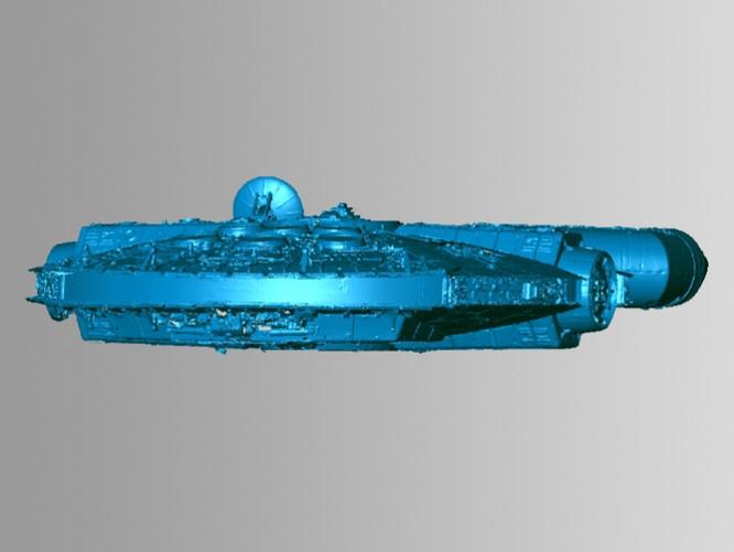 3D Scanning a Star Wars Digital Model at Skywalker Ranch