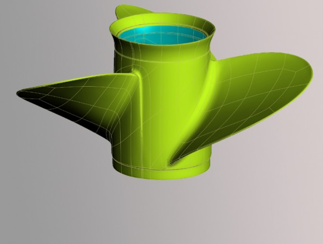 Reverse Engineering a Marine Propeller