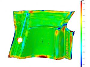 3D Scanning Ferrari Interior Panel