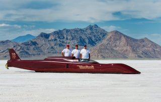 Salt flat racer for 3D scanning project