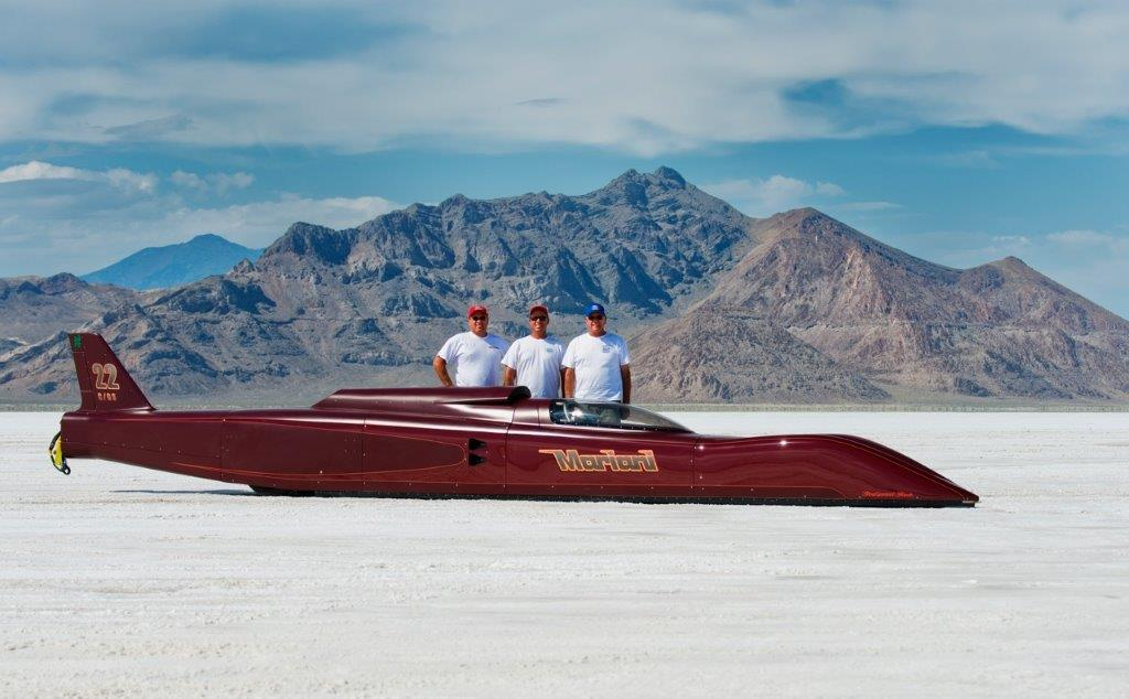 3D Scanning a Salt Flat Racer for Speed Performance Adjustments during Speed Week