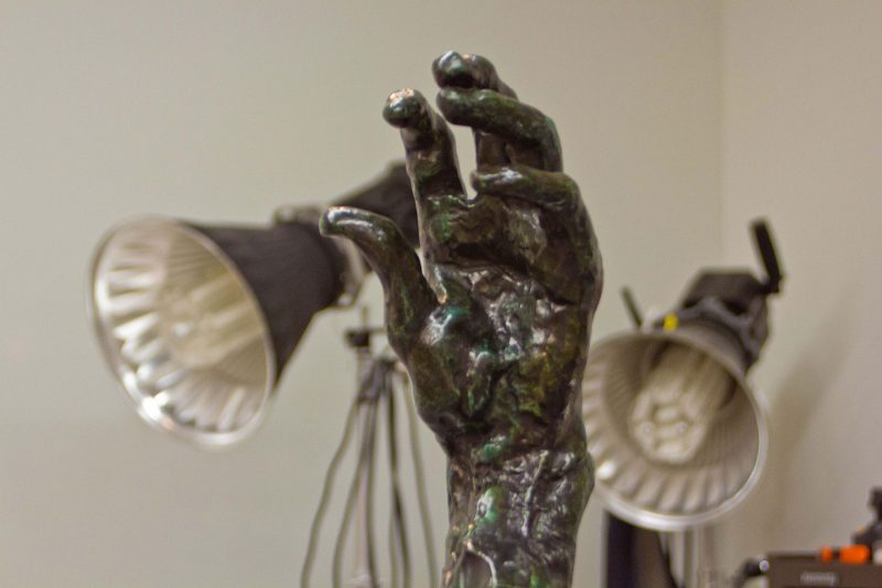 3D Scanning of Sculpture 'Rodin's Hands'