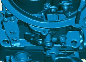 """screen shot of """"industry standard"""" 3D scan data"""