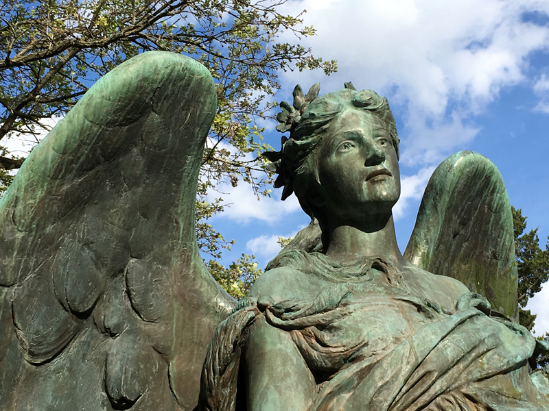 "3D Scanning Daniel Chester French's ""Black Angel"""