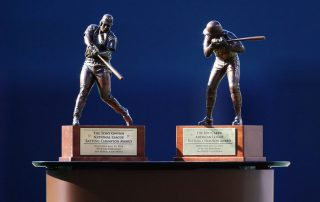 American and National League 2106 batting champion awards, created by Scansite3D
