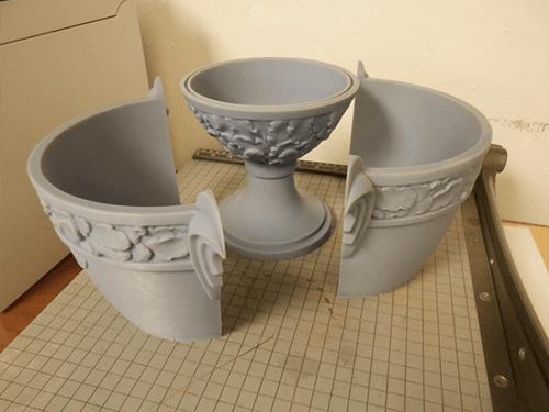 Concours d'Elegance Trophy - 3D printed parts