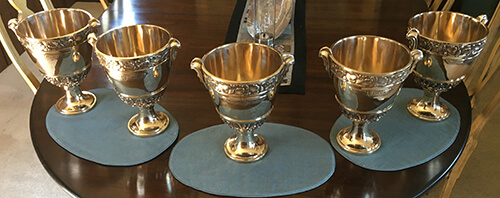 Concours d'Elegance Trophy - finished trophies