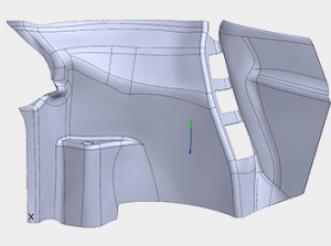 3D scanning of Chevy Volt electric car