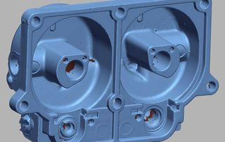 3D scan data of a carburetor part created with a Breuckman Stereoscan 3D scanner