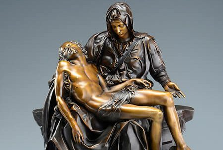 3D scanned replica of Michelangelo's Pieta